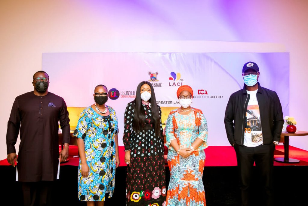 Commissioner For Arts and Culture Linus Idahosa Mo Abudu Launch Lagos State Creative Industry Initiative